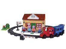 Stavebnice BIG-Bloxx ako lego - Stavebnica Peppa Pig na železničnej stanici PlayBIG Bloxx BIG so 4 figúrkami 95 dielov od 1,5-5 rokov_6