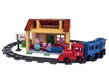 Stavebnice BIG-Bloxx ako lego - Stavebnica Peppa Pig na železničnej stanici PlayBIG Bloxx BIG so 4 figúrkami 95 dielov od 1,5-5 rokov_7