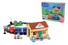 Stavebnice BIG-Bloxx ako lego - Stavebnica Peppa Pig na železničnej stanici PlayBIG Bloxx BIG so 4 figúrkami 95 dielov od 1,5-5 rokov_8