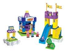 Dětská stavebnice Peppa Pig v lunaparku PlayBIG Bloxx BIG se 4 figurkami 126 dílů od 1,5-5 let