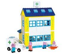 Stavebnice BIG-Bloxx ako lego - Stavebnica Peppa Pig v nemocnici PlayBIG Bloxx BIG so 4 figúrkami 112 dielov od 1,5-5 rokov_0