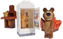 Stavebnice BIG-Bloxx ako lego - Stavebnica Máša a medveď v izbe PlayBIG Bloxx BIG s 1 figúrkou 35 dielov od 1,5-5 rokov_0