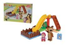 Stavebnice BIG-Bloxx ako lego - Stavebnica Máša a medveď na šmykľavke PlayBIG Bloxx BIG s 2 figúrkami 29 dielov od 1,5-5 rokov_1