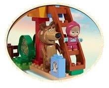 Stavebnice BIG-Bloxx ako lego - Stavebnica Máša a medveď na šmykľavke PlayBIG Bloxx BIG s 2 figúrkami 29 dielov od 1,5-5 rokov_2