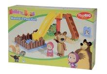 Stavebnice BIG-Bloxx ako lego - Stavebnica Máša a medveď na šmykľavke PlayBIG Bloxx BIG s 2 figúrkami 29 dielov od 1,5-5 rokov_4