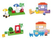 Set joc de construit Peppa Pig PlayBIG BLOXX 4 figurine pentru vârsta cuprinsă între 1,5-5 ani (compatibil cu Lego Duplo)  B5