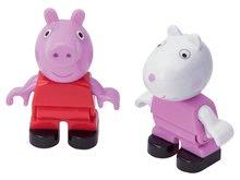 Detské figúrky Peppa Pig a zajačik Suzy PlayBIG Bloxx BIG 2 figúrky od 1,5-5 rokov