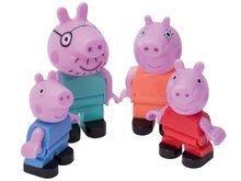 Detské figúrky rodinka Peppa Pig PlayBIG Bloxx BIG 4 figúrky od 1,5-5 rokov