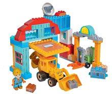 Kocke Mojster Miha PlayBIG Bloxx Bob na gradbišču,1 figurica in 96 delov od 24 mes