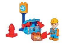 Stavebnice Bořek Stavitel instalatér s hydrantem PlayBIG Bloxx BIG 8-10 kusů od 24 měsíců