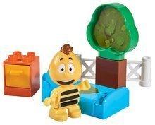 Stavebnica Včielka Maja - Vilko v spálni PlayBIG Bloxx BIG 1 figúrka a 6-7 dielov od 24 mes
