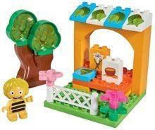 Stavebnica Maya the Bee PlayBIG BLOXX-Včielka Maja s medom 1 figúrka 28 kusov +18 m 19*13*14 cm BIG57127