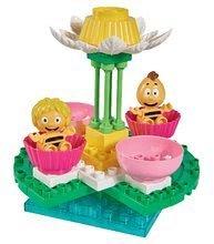 Kocke Maya the Bee PlayBIG BLOXX Čebelica Maja na vrtiljaku 2 figurici 38 kosov od 24 mes