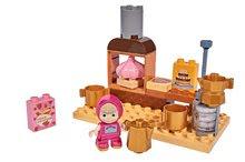 Stavebnica Masha a medveď PlayBIG Bloxx BIG Máša v kuchyni 19 dielov 1 figúrka 1,5-5 rokov 19*10*11 cm