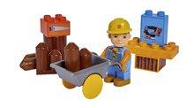 Stavebnica Bob the Builder PlayBIG BLOXX Bob stolár s vozíkom 8-11 kusov od 24 mes