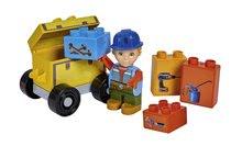 Stavebnica Bob the Builder PlayBIG BLOXX Bob opravár s vozíkom 8-11 kusov od 24 mes