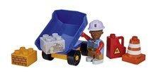 Stavebnica Bob the Builder PlayBIG BLOXX Bob stavbár s plošinou 8-11 kusov od 24 mes