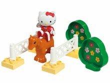 Stavebnice BIG-Bloxx ako lego - Stavebnica PlayBIG Bloxx BIG Hello Kitty - na dostihoch v autíčku a v spálni od 18 mes_0