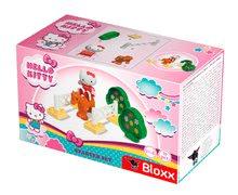 Stavebnice BIG-Bloxx ako lego - Stavebnica PlayBIG Bloxx BIG Hello Kitty - na dostihoch v autíčku a v spálni od 18 mes_3