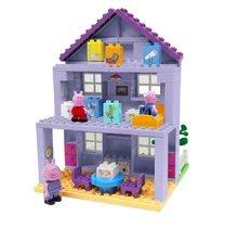Slagalice BIG-Bloxx kao lego - Slagalica Peppa Pig Grandparents House PlayBIG BLOXX kuća bake i djeda s 3 figurice od 18 mjes_0