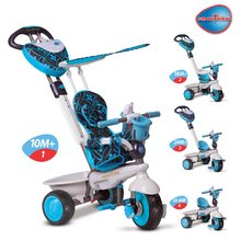 Tricikli Dream Team 4in1 Touch Steering smarTrike EVA kerekekkel kék
