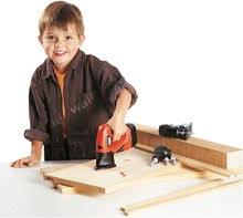 Detská dielňa sety - Set pracovná dielňa Black&Decker Smoby s mechanickou vŕtačkou a elektronická sada nástrojov 3v1 Quatro Set_9