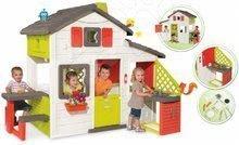 Detský domček Priateľov Smoby s kuchynkou a elektronickým zvončekom