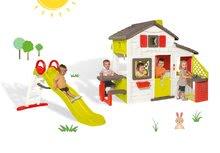 Domčeky so šmykľavkou - Set domček Priateľov Smoby s kuchynkou a zvončekom a šmykľavka Toboggan Funny 2 metrová_23