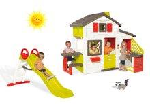 Domčeky so šmykľavkou - Set domček Priateľov Smoby s kuchynkou a zvončekom a šmykľavka Toboggan Funny 2 metrová_22
