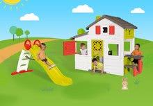 Domčeky so šmykľavkou - Set domček Priateľov Smoby s kuchynkou a zvončekom a šmykľavka Toboggan Funny 2 metrová_24