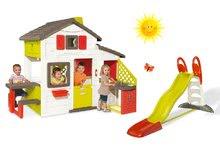 Domčeky so šmykľavkou - Set domček Priateľov Smoby s kuchynkou a zvončekom a šmykľavka Toboggan XL s dĺžkou 2,3 m_21