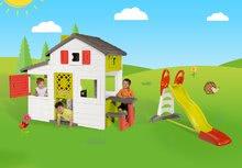 Domčeky so šmykľavkou - Set domček Priateľov Smoby s kuchynkou a zvončekom a šmykľavka Toboggan XL s dĺžkou 2,3 m_23