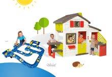 Domčeky s vodnou dráhou - Set domček Priateľov Smoby s kuchynkou a zvončekom a vodná hra Waterplay Amsterdam_27