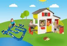 Domčeky s vodnou dráhou - Set domček Priateľov Smoby s kuchynkou a zvončekom a vodná hra Waterplay Amsterdam_25
