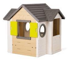 Šmykľavky s domčekom - Set šmykľavka Toboggan XL Smoby s vodou dĺžka 230 cm a domček My House s 2 dvierkami_13