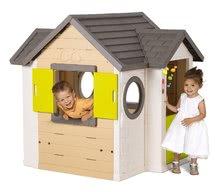 Šmykľavky s domčekom - Set šmykľavka Toboggan XL Smoby s vodou dĺžka 230 cm a domček My House s 2 dvierkami_10