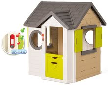 Šmykľavky s domčekom - Set šmykľavka Toboggan XL Smoby s vodou dĺžka 230 cm a domček My House s 2 dvierkami_4