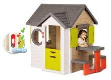 Domčeky s náradím - Set domček My Neo House DeLuxe Smoby so zvončekom a zadným vchodom, fúrik s vedierkom_0