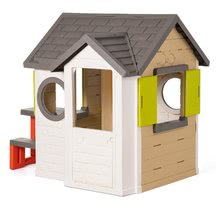 Domčeky s náradím - Set domček My Neo House DeLuxe Smoby so zvončekom a zadným vchodom, fúrik s vedierkom_2