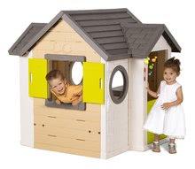 Domčeky s náradím - Set domček My Neo House DeLuxe Smoby so zvončekom a zadným vchodom, fúrik s vedierkom_6