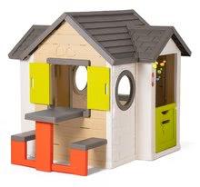 Domčeky sety - Set domček My Neo House DeLuxe Smoby so zvončekom a zadným vchodom a balančné odrážadlo od 24 mes_12