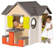 Domčeky s náradím - Set domček My Neo House DeLuxe Smoby so zvončekom a zadným vchodom, fúrik s vedierkom_7