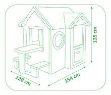 Domčeky s náradím - Set domček My Neo House DeLuxe Smoby so zvončekom a zadným vchodom, fúrik s vedierkom_15