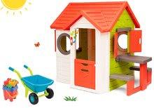 Domčeky s náradím - Set domček My Neo House DeLuxe Smoby so zvončekom a zadným vchodom, fúrik s vedierkom_27