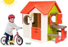 Domčeky sety - Set domček My Neo House DeLuxe Smoby so zvončekom a zadným vchodom a balančné odrážadlo od 24 mes_28