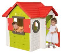 Dětský domeček My House Smoby s 2 dveřmi, elektronickým zvonkem a UV filtr