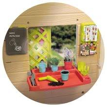 Căsuțe de grădină pentru copii  - 810405 e smoby domcek