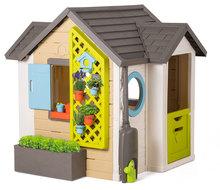 Căsuțe de grădină pentru copii  - 810405 p smoby domcek