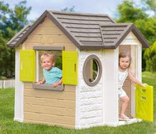 Šmykľavky s domčekom - Set šmykľavka Toboggan XL Smoby s vodou dĺžka 230 cm a domček My House s 2 dvierkami_8