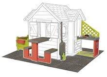 Šmykľavky s domčekom - Set šmykľavka Toboggan XL Smoby s vodou dĺžka 230 cm a domček My House s 2 dvierkami_19